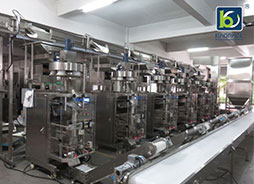 Automatic packaging machine adds power to the development of commodity production