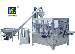 Do You Know Performance Characteristics Of Rotary Bag Powder Packaging Machine