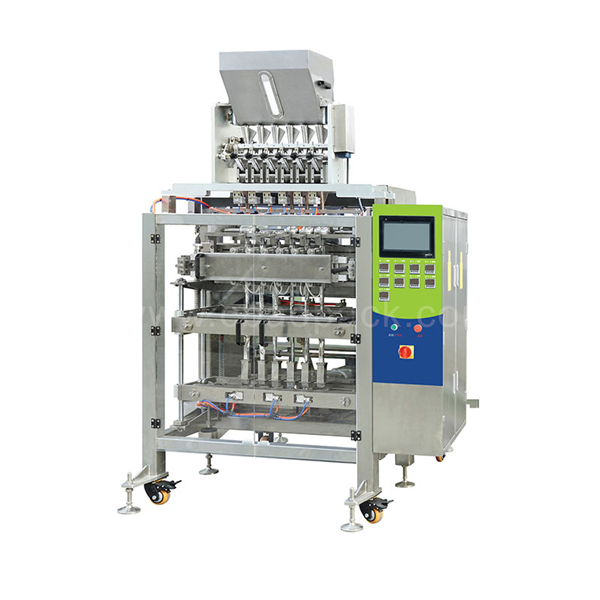 VFFS Multi-lines Packing Machine With Volumetric Cup Device