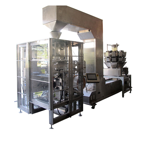 VFFS Doy Bag Packing Machine With Multi Heads Weigher