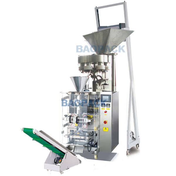 VFFS Pillow/Gusseted Bag Machine VP42 with Volumetric Cup Device